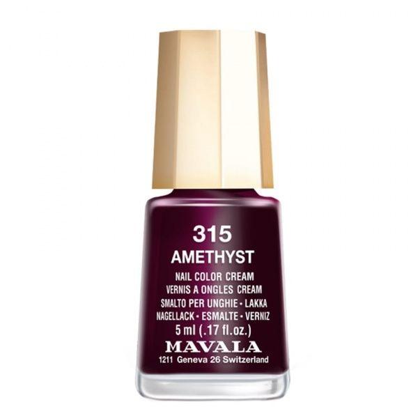 Mavala Лак Amethyst 9091315 для Ногтей Аметист, 5 мл mavala mini color лак для ногтей 13 riyadh