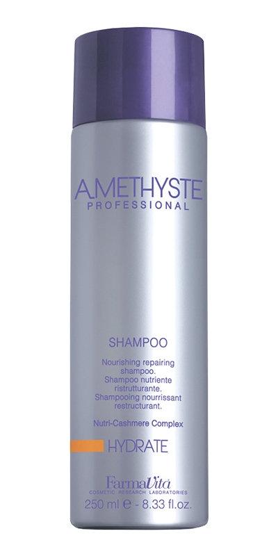 Farmavita Шампунь Amethyste Hydrate для Сухих и Поврежденных Волос, 250 мл