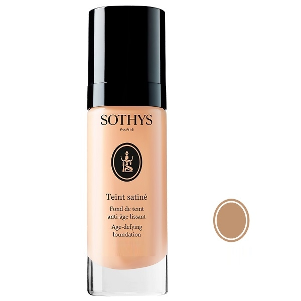 Sothys Тональная Anti-Age Основа Age-Defying Foundation (Beige Rose B35) с Разглаживающим Действием, 30 мл биологичеcкий эксфолиант с экстрактом жасмина sothys anti age 50 мл