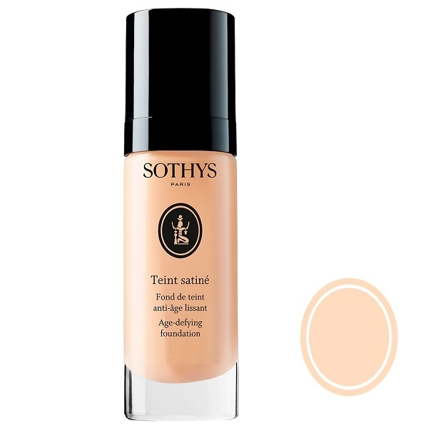 Sothys Тональная Anti-Age Основа Teint Satine с Разглаживающим Действием (Проф) Бежевый B10, 25 мл