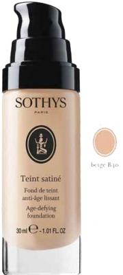 Sothys Тональная Anti-Age Основа Teint Satine с Разглаживающим Действием (Проф) Бежевый B30, 25 мл