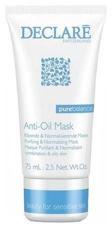 Declare Маска для Жирной и Проблемной Кожи Anti-Oil Mask, 75 мл declare маска для жирной и проблемной кожи 75 мл