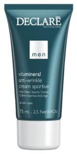Declare Омолаживающий Крем для Активных Мужчин Anti-Wrinkle Cream Sportive, 75 мл matis для мужчин омолаживающий крем мужская линия омолаживающий крем