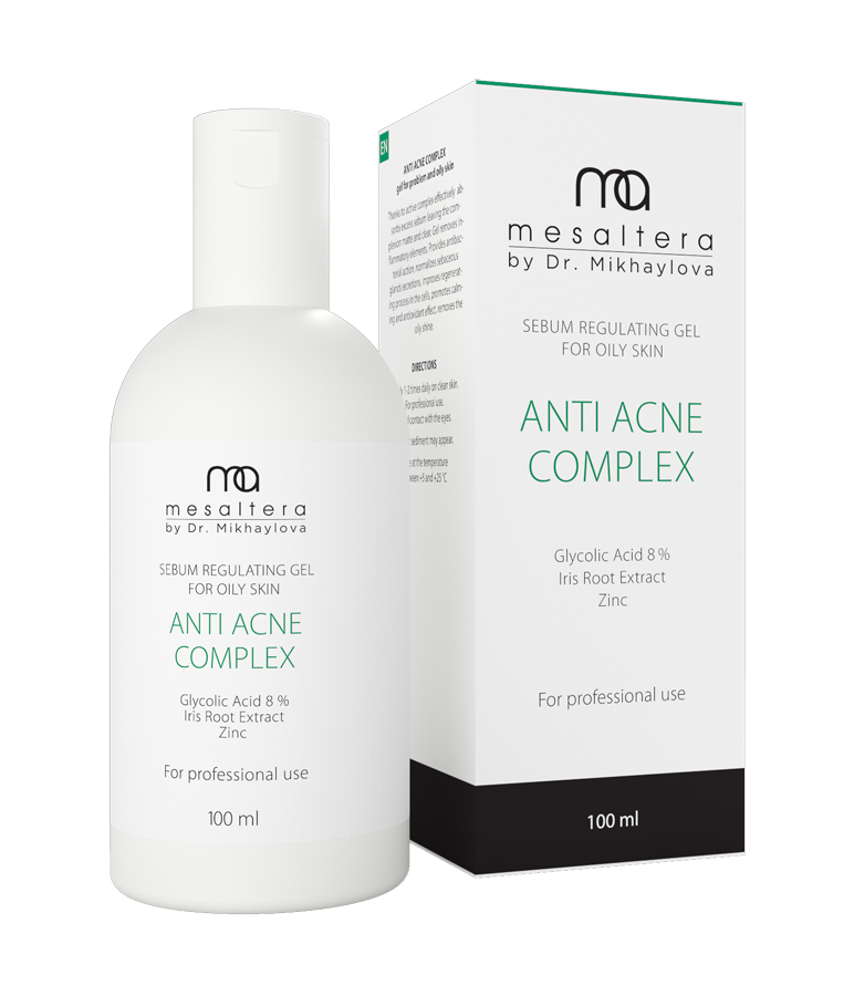 Mesaltera By Dr. Mikhaylova Комплекс Анти Акне Anti Acne Complex, 100 мл акне cow brand gyunyu sekken skinlife medicated acne care cleansing foam объем 130 г