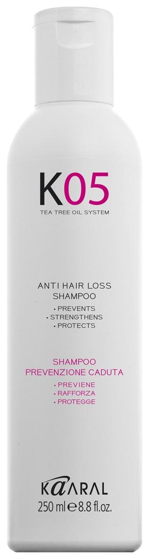 Kaaral Шампунь для Профилактики Выпадения Волос Anti Hair Loss Shampoo, 250 мл