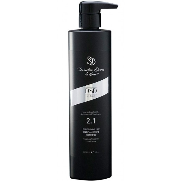 DSD De Luxe Шампунь Antidandruff Shampoo № 2.1 от Перхоти Диксидокс Де Люкс, 500 мл dsd de luxe шампунь antiseborrheic shampoo 1 1 антисеборейный 200 мл