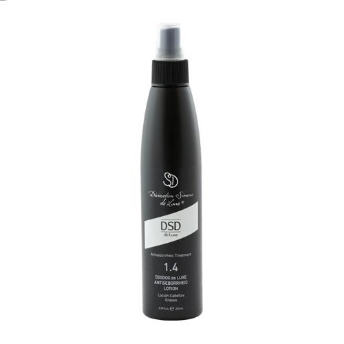 DSD De Luxe Лосьон Antiseborrheic Lotion № 1.4 Антисеборейный Диксидокс Де Люкс, 200 мл dsd de luxe шампунь antiseborrheic shampoo 1 1 антисеборейный 200 мл