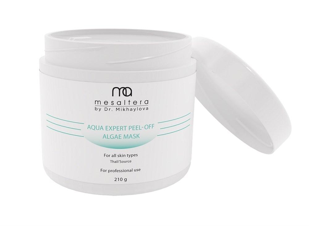 Mesaltera By Dr. Mikhaylova Маска Aqua Expert Peel- Off Algae Mask Увлажняющая Альгинатная, 210г