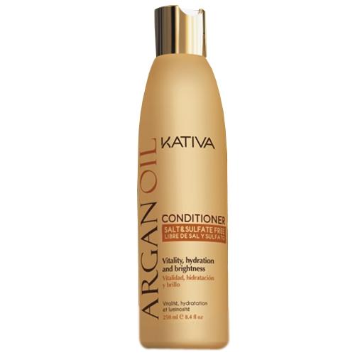 Kativa Кондиционер Argan Oil Увлажняющий для Волос с Маслом Арганы, 250 мл
