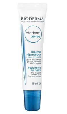 Bioderma Бальзам Atoderm для Губ Атодерм, 15 мл бальзам для губ восстанавливающий для очень сухой кожи губ 12 г лакри уход