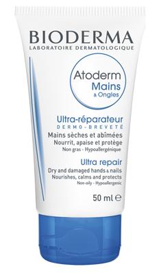 Bioderma Крем Atoderm Mains & Ongles cream для Рук Восстанавливающий Атодерм, 50 мл недорого