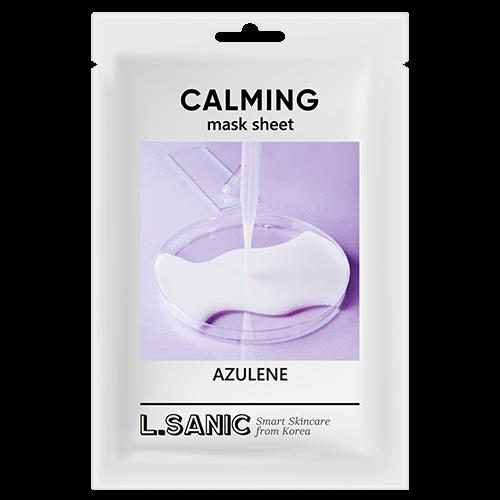 L.Sanic Успокаивающая Тканевая Маска с Азуленом Azulene Calming Mask Sheet, 25 мл