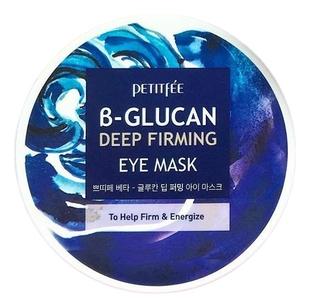 Petitfee Патчи B-Glucan Deep Firming Eye Mask Тканевые для Кожи вокруг Глаз c Бета-Глюканом, 60 шт уровень брусковый 3 глаз matrix 34201 60 см
