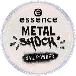 Essence Эффектная Пудра для Ногтей B-To-B Metal Shock Nail Powder, Розовый Перламутр тон 03