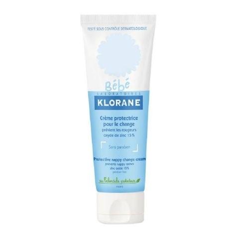 Klorane Крем Baby Moisturizing Cream Vitamin-Based Защитный для Смены Подгузников,  75 г