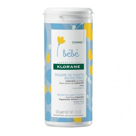 Klorane Присыпка Baby Protective Baby Powder Детская,100г klorane bebe защитная туалетная присыпка 100 г