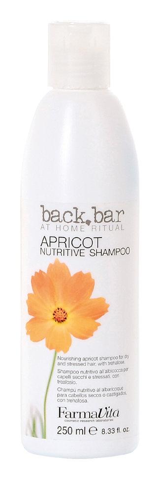 Farmavita Шампунь Back Bar Apricot Shampoo Абрикос, 250 мл