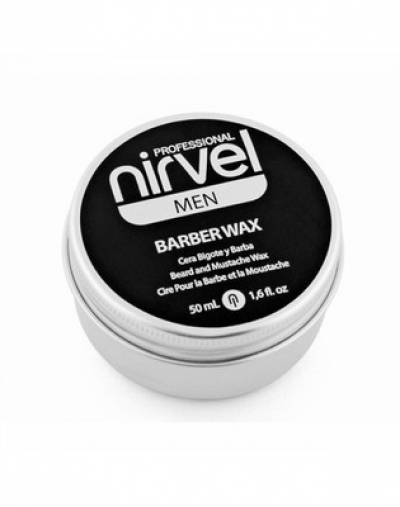 Nirvel Professional Воск Barber Wax для Укладки Бороды и Усов, 50 мл воск уход для бороды и усов re style 233 30 мл