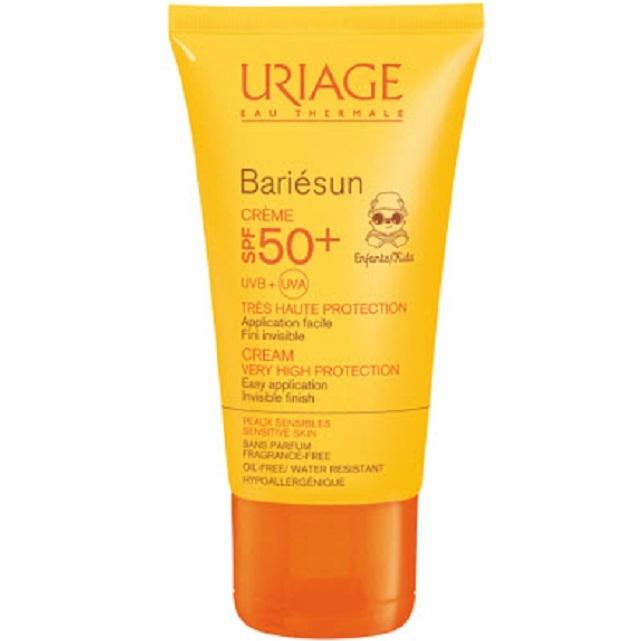 Uriage Крем Bariesun для Детей Spf 50+ Тюбик Барьесан, 50 мл урьяж барьесан крем солнцезащитный
