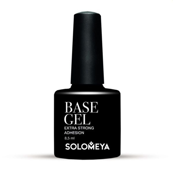 Solomeya Гель Base Gel SBG Базовый, 8,5 мл solomeya гель лак color gel тон aries scg082 овен 8 5 мл