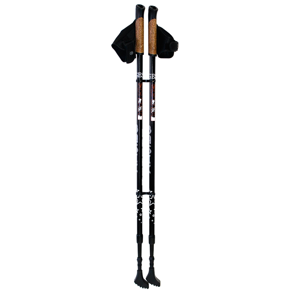 Фото - Gess Палки Basic Walker для Скандинавской Ходьбы Двухсекционные палки для скандинавской ходьбы larsen camping