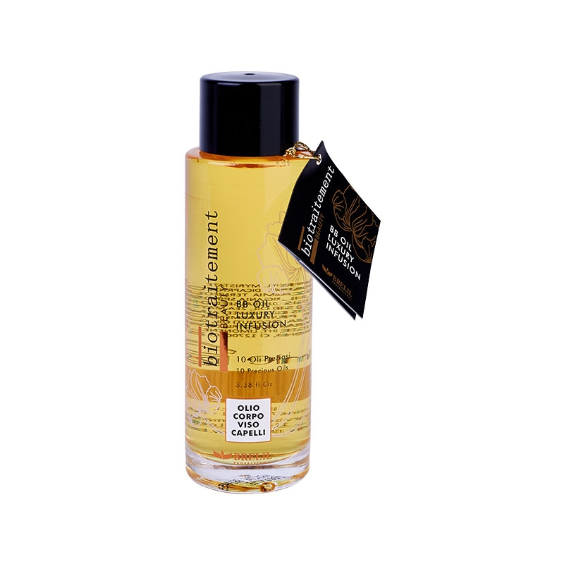 Brelil Professional Масло BB Oil Luxury Infusion многофунциональное для волос, лица и тела, 100 мл