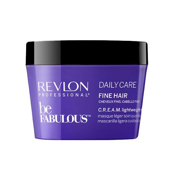 REVLON Маска Be Fabulous для Тонких Волос, 200 мл revlon кондиционер для тонких волос be fabulous 750 мл