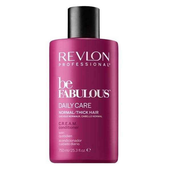 REVLON Кондиционер Be Fabulous для Густых и Нормальных Волос, 750 мл revlon кондиционер для тонких волос be fabulous 750 мл