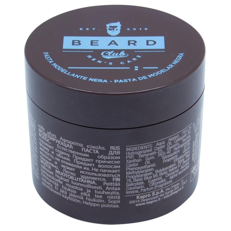 Beard Club Паста Моделирующая Черная, 100 мл