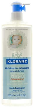 Klorane Гель Bebe Gel Douceur Moussant Нежный Очищающий, 500 мл gel moussant