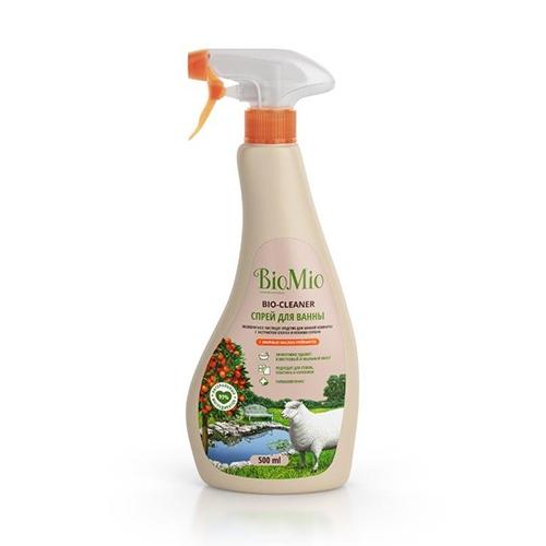 BIOMIO Средство Bio Bathroom Cleaner Чистящее для Ванной Комнаты Грейпфрут, 500 мл