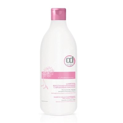 Constant Delight Шампунь Bio Flowers Water Repair Shampoo Восстанавливающий с Аргановым Маслом, 1000 мл