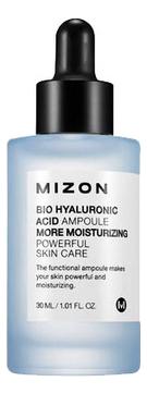 MIZON Сыворотка Bio Hyaluronic Acid Ampoule Ампульная Увлажняющая с Гиалуроновой Кислотой, 30 мл