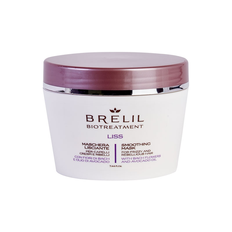 Brelil Professional Маска разглаживающая Bio Traitement Liss Mask, 220 мл