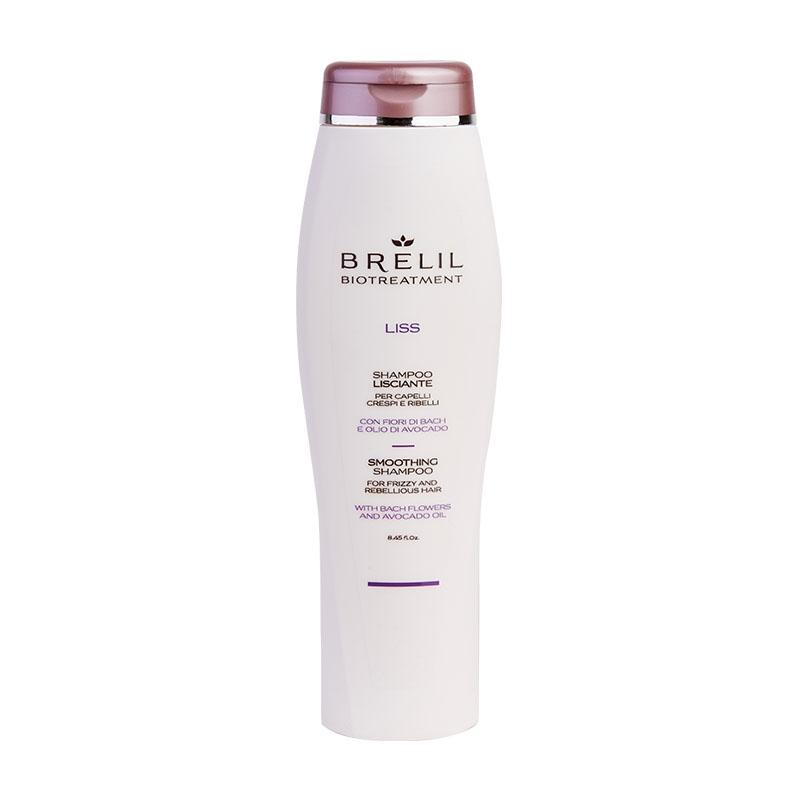 Brelil Professional Шампунь Bio Traitement Liss Shampoo разглаживающий, 250 мл