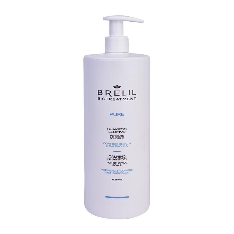 Brelil Professional Шампунь Bio Treatment Pure Деликатный Восстанавливающий, 1000 мл
