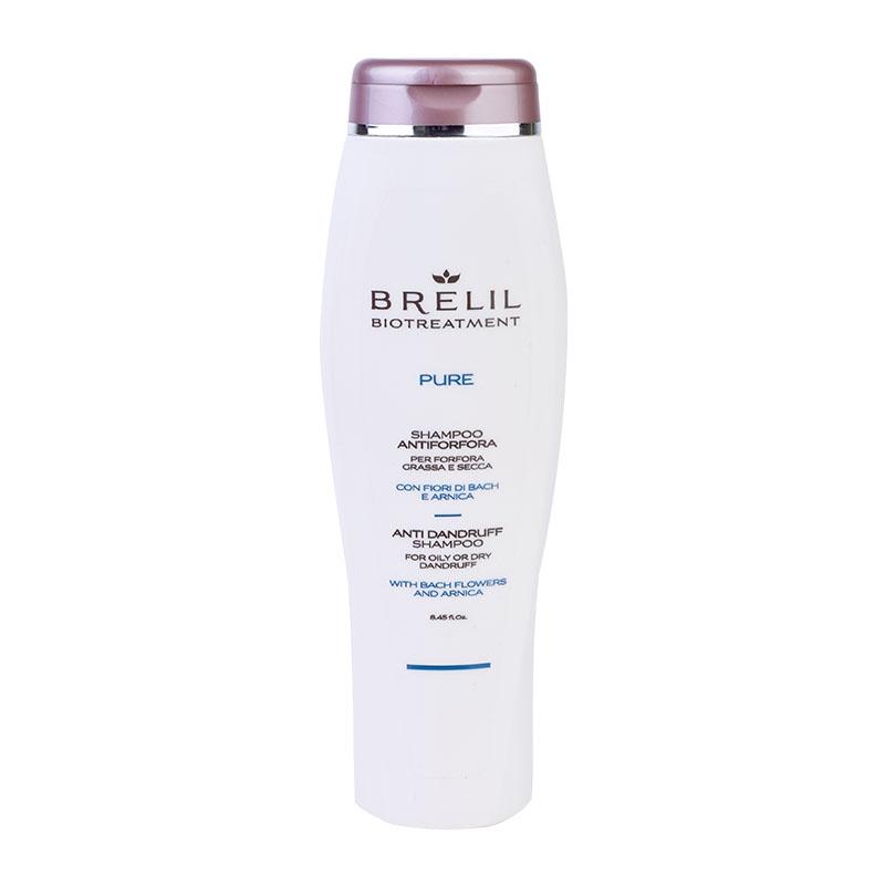 Brelil Professional Шампунь против Перхоти Bio Treatment Pure, 250 мл