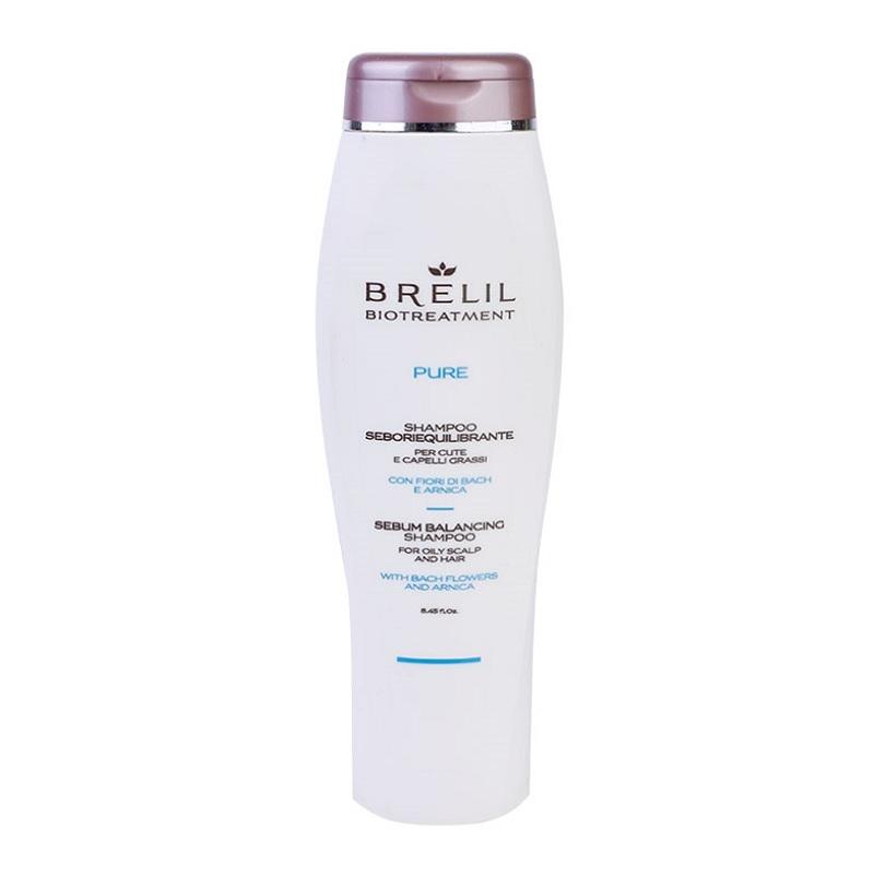 Brelil Professional Шампунь для Жирных Волос Bio Treatment Pure, 250 мл цены онлайн