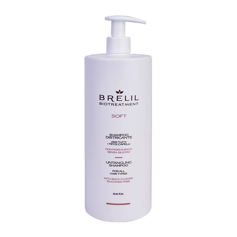 Brelil Professional Шампунь Bio Treatment Soft для Непослушных Волос, 1000 мл