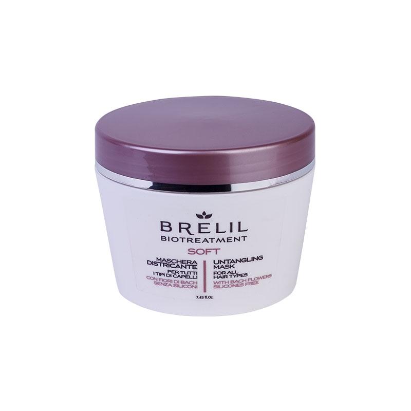 Brelil Professional Маска Bio Treatment Soft для Непослушных Волос, 220 мл
