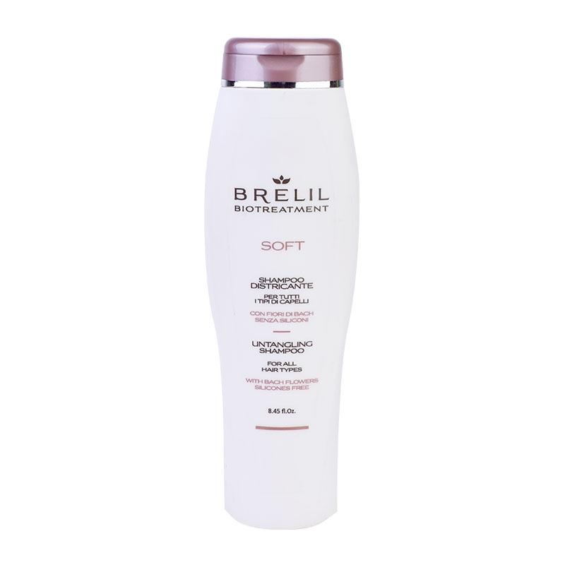 Brelil Professional Шампунь Bio Treatment Soft для Непослушных Волос, 250 мл