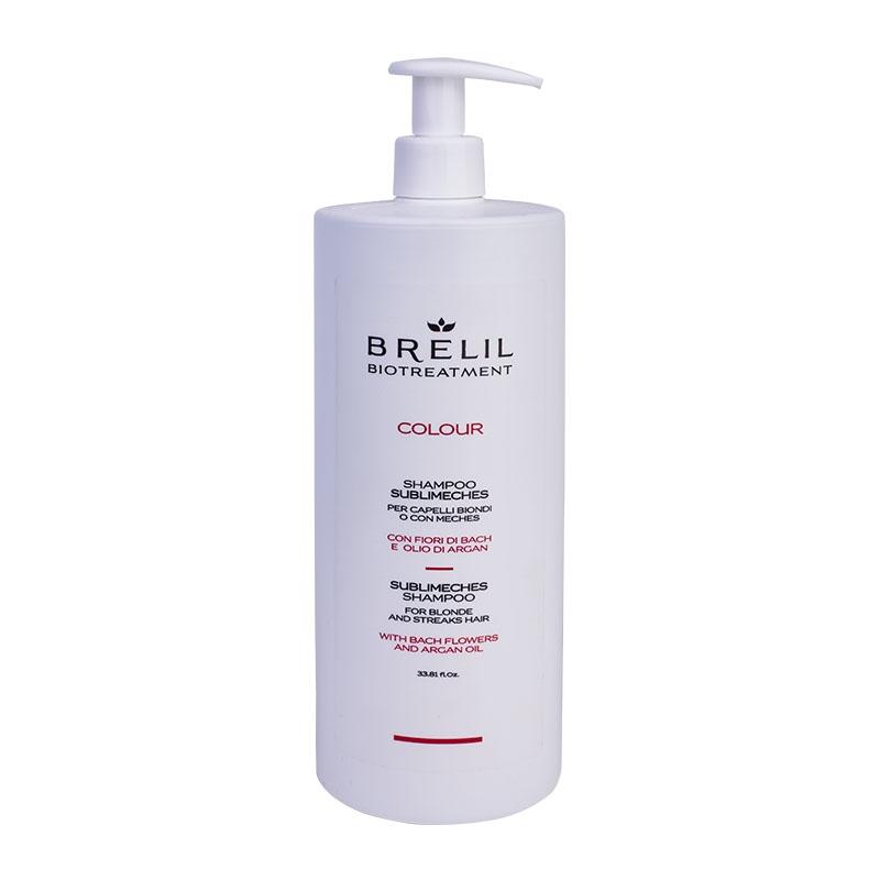 Фото - Brelil Professional Шампунь для Мелированных Волос Biotreatment, 1000 мл маска для окрашенных волос brelil biotreatment colour 220 мл