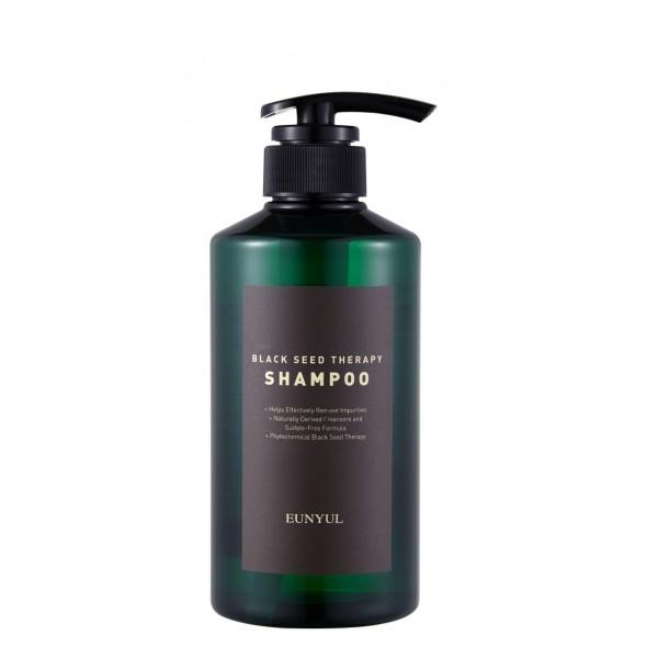 Eunyul Шампунь для Волос с Маслом Черного Тмина Black Seed Therapy Shampoo, 500 мл
