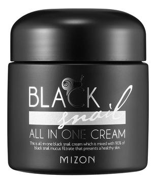 MIZON Крем Black Snail All In One Cream с Экстрактом Черной Улитки, 75 мл