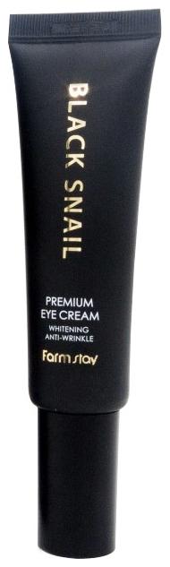FarmStay Премиальный Крем для Глаз с Муцином Черной Улитки  Black Snail Premium Eye Cream, 50 мл