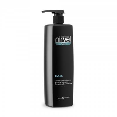 Nirvel Professional Шампунь Blanc Shampoo для Осветленных и Седых Волос, 1000 мл nirvel professional сухой шампунь для волос dry shampoo 300 мл