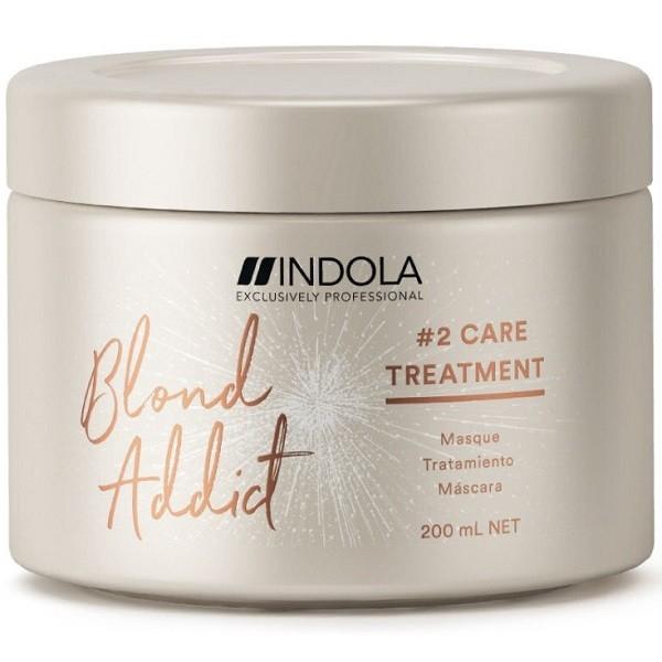 INDOLA PROFESSIONAL Маска Blond Addict  для Окрашенных и Обесцвеченных Волос, 200 мл маска софт блонд для светлых и окрашенных волос smart blond 250мл