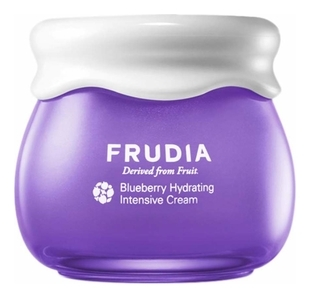 Фото - Frudia Крем Blueberry Hydrating Cream Увлажняющий для Лица с Черникой, 55г увлажняющий крем для лица skin hydrating booster 30мл