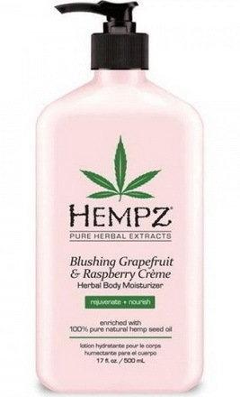 Фото - HEMPZ Молочко Blushing Grapefruit&Raspberry Moisturizer для тела увлажняющее  Грейпфрут и Малина, 500 мл hempz молочко original herbal moisturizer для тела увлажняющее оригинальное 500 мл