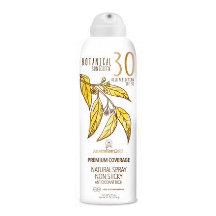 Аustralian Gold Защитный Спрей с Минеральными Фильтрами (Бесцветный) Botanical SPF 30 Natural Spray, 177 мл